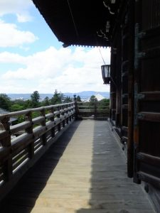 二月堂本堂からの景色