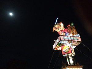 2016年11月飛火野 燈籠山