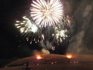 2017年山焼き 花火
