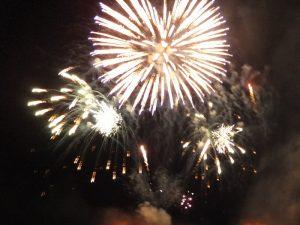 奈良の花火